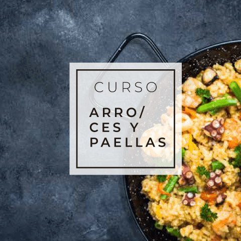 Curso Arroces y Paellas